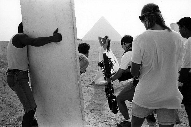 Mes Arabies. Egypt, Giza Pyramids 1995