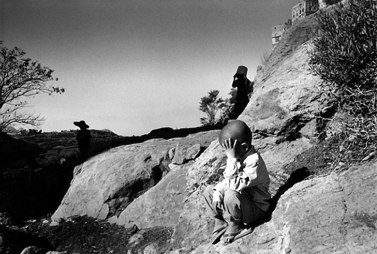 Mes Arabies. Yemen, Hajjra village 1997
